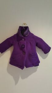 10b59f275306 Ted baker baby girl coat  6-9 months purple colour.