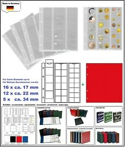 10-look-323010-Coin-Sheets-Numoh-Mix-NH33-33-Compartments-Div-17-22-34