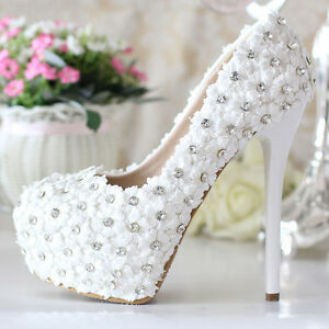 Lace Wedding Dress with Shoes