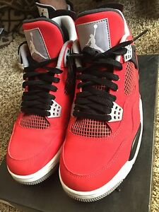 brand new 8baed 6f008 Details about air jordan retro 4 toro bravo sz 9.5