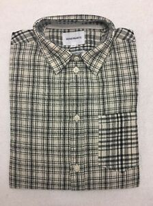 80adfcf7787 Norse Projects Plaid Button Up Anton Cotton Linen Check XS Extra ...