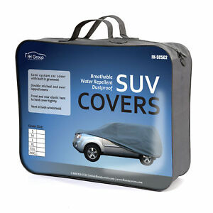 Car Cover Water Resistant Breathable UV Snow Heat Dust Rain Resistant Small