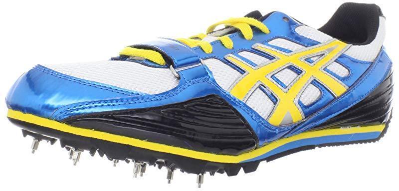 turbo - salto in alto le scarpe da corsa, jet jet corsa, blu / giallo / nero, 12 noi uomini 7e4288