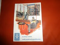 Volkswagon Genuine Vw Spare Parts are Always Available Post Card