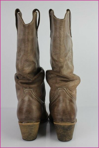 Boots FELMINI VERY Brown Leather Taupe Moderate T 40 VERY FELMINI GOOD CONDITION 37c4e3