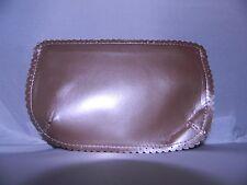 New AVON Light Pink Metallic Cosmetic Accessory Bag