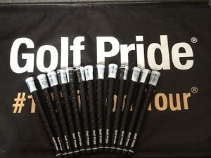 13-Brand-New-Golf-Pride-Tour-Wrap-2G-Black-Midsize-Golf-Grips