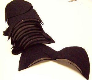 6-Paar-Schulterpolster-schwarz-Schneiderhandwerk-Naehen-Konvolut