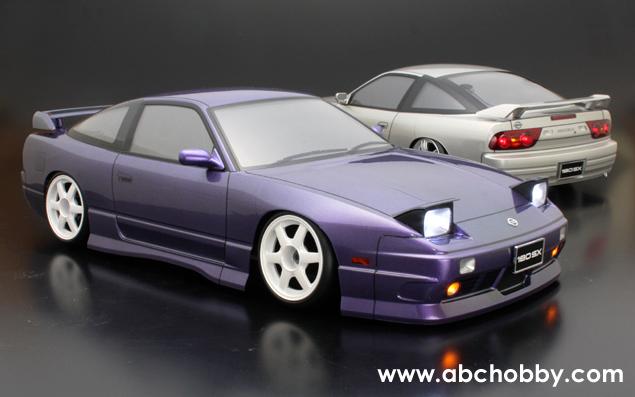 L'achat en deux parties est poli, très satisfait Nissan ABC-Hobby 66138 1/10 Nissan satisfait 180sx (incl. DEL Support) bd9131