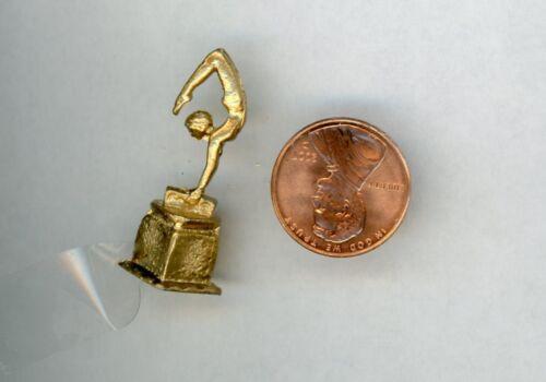 Miniature Dollhouse Woman/'s Gymnastic Trophy ISL