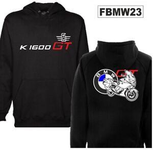 Felpa-cappuccio-nero-moto-personalizzata-Bmw-K1600-GT-hoodie-sweatshirt-FBMW23