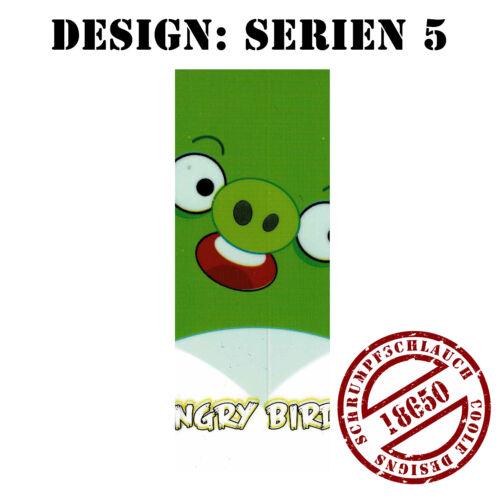 Versand aus DE Serien 2 Stück Schrumpfschlauch Wrap Schlauch für 18650 Akku