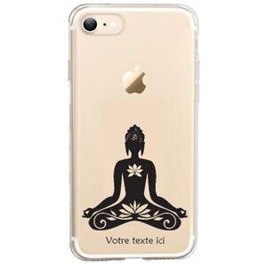 Coque Iphone 7 8 SE 2020 bouddha lotus personnalisee