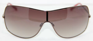 New-Emporio-Armani-Men-039-s-Women-039-s-Sunglasses-EA9818-217-Brown-Metal-Frame
