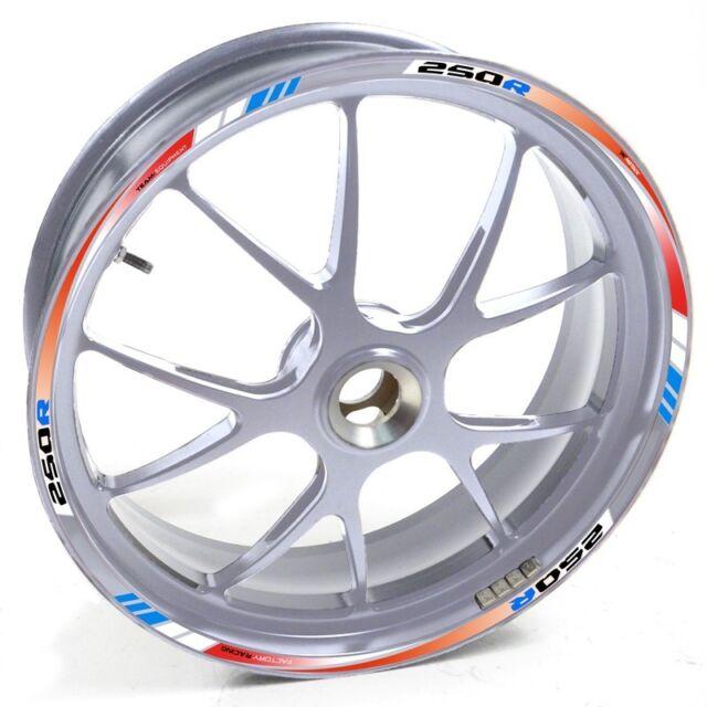 Uken Sticker Wheel Rim Honda Silver Cbr 250 R 250r 250 R Red Blue