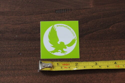 ENO HAMMOCKS Eagles Nest Outfitters STICKER Decal NEW LIME GREEN