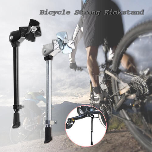 Mountain Bike Bicycle Cycle Kick Stand Adjustable Heavy Duty Prop Side Rear WF
