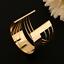 Fashion-Women-Girls-Gold-Punk-Bangle-Charm-Cuff-Wide-Bracelet-Wristband-Jewelry thumbnail 3
