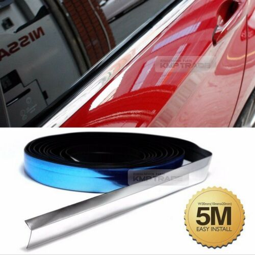 Car Flexible Chrome Edge Molding Accessory Garnish Cover For All Vehicle