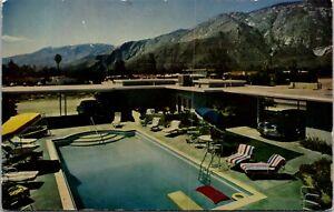Vtg 1950's Ste Wilden Arms Motel, Palm Springs California CA Postcard
