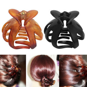 Plastic-Big-Hairpin-Barrette-Women-Hair-Clip-Octopus-Claw-Comb-Bun-Accessories