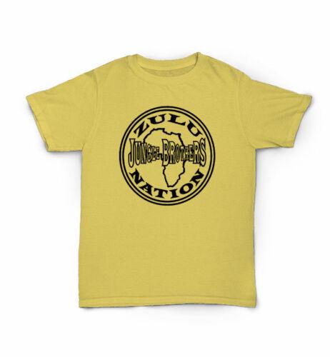 Native Tongues Golden Era classic hip hop Jungle Brothers Zulu Nation T Shirt