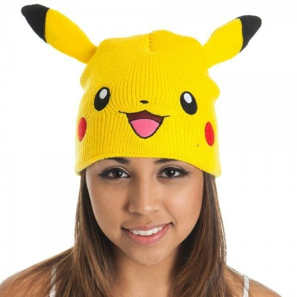 2ea344fc2f1 Pokemon Pikachu Beanie Hat Cap -   Official Merchandise for sale online