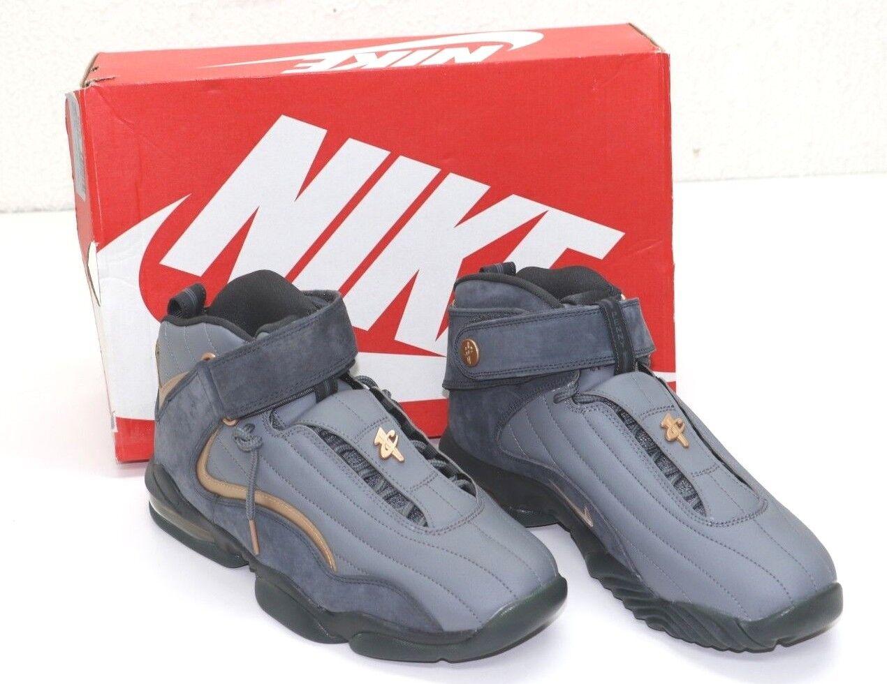 Nike air penny 4 iv wolf grau coppercoin 864018-002 sz 9us - eur 42,5