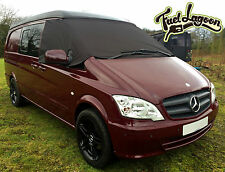 Deluxe Mercedes Benz Vito 369 Front Window Screen Cover Black Out Blind Frost