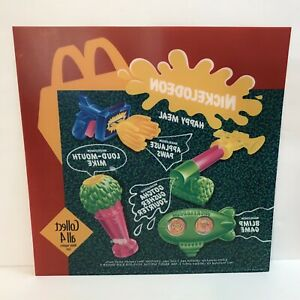 Mcdonalds-Nickelodeon-Translite-Sign-Happy-Meal-Toys-1993-Nick