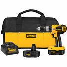 DeWalt 18-volt Cordless Hammer Compact Drill/Driver Kit