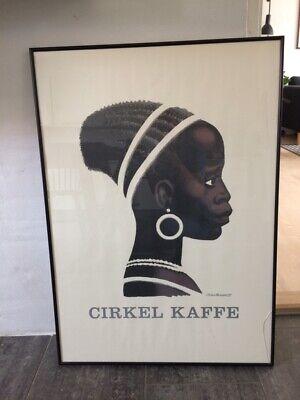 cirkel kaffe plakat 70x100