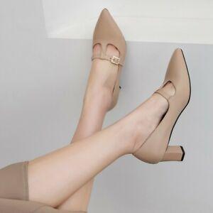 Nice Women Pumps Square Heels Pumps