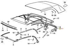 Genuine BMW E36 3 Series Convertible Top Lower Back Sealing Gasket 54318135273