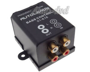 Details about Bass Regulator Active Soft Subwoofer Level Volume Control RCA  Adapter Amplifier