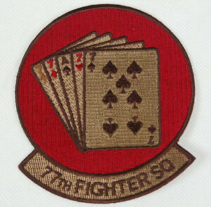 US-USAF-77TH-FIGHTER-SQUADRON-EMBROIDERED-PATCH-32266