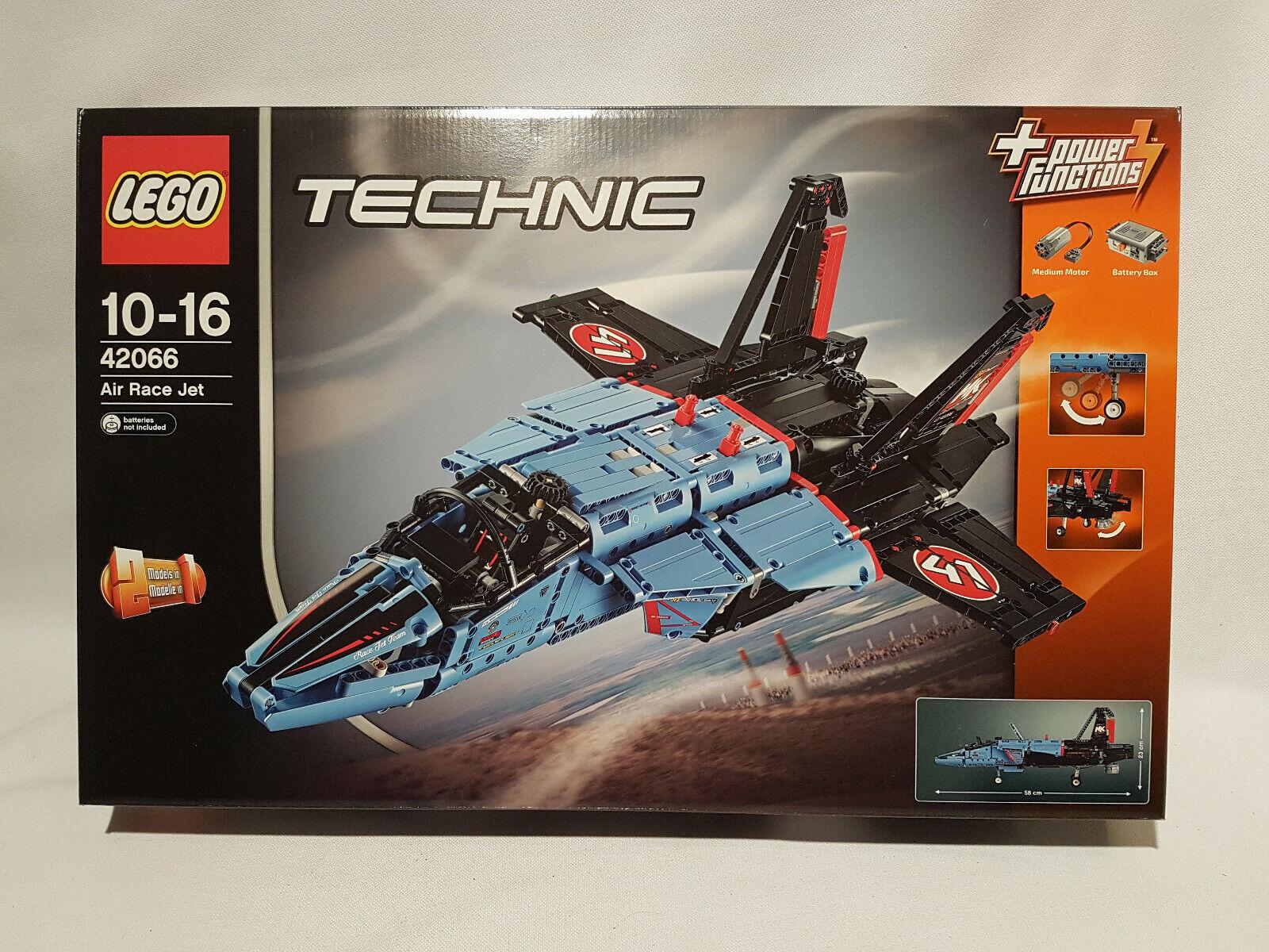 LEGO 42066 TECHNIC Air Race Jet NEUF, SCELLE.