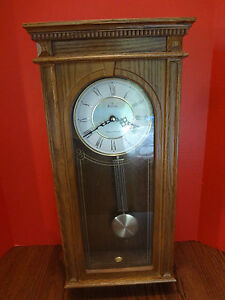 BulovaWestminsterWhittingtonWall Clock VGC Working with Sound