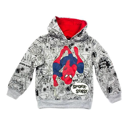 Boys Hoodie Sweatshirt Spiderman Ninja Turtles TMNT Kids Brand New Official