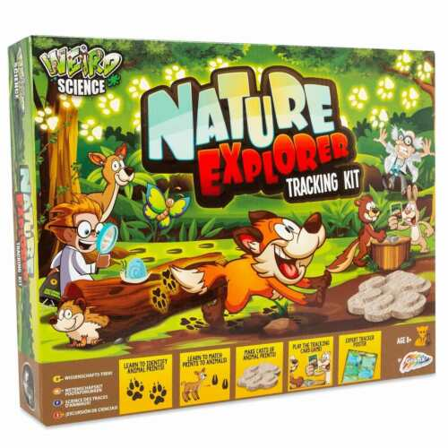 Nature Explorer Tracking Kit Learn Identify Animals Exploring Indoor Activities