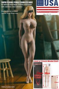 TBLeague-S21B-1-6-Suntan-Big-Bust-Female-Body-Phicen-Super-Flexible-Figure-Model