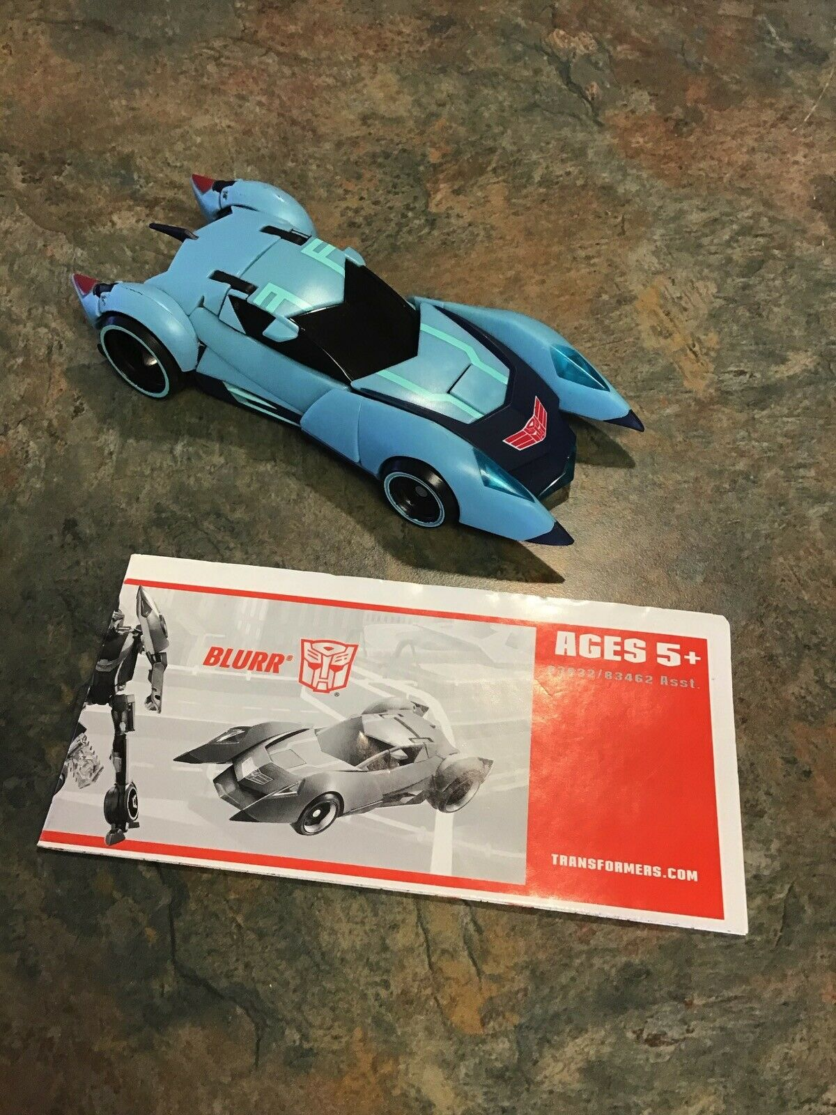 Hasbro Transfomers Animated 2008 Autobot bluerr Deluxe Class