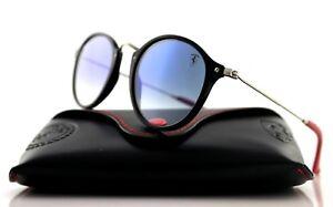 88cd31cdad NEW Genuine RAY-BAN SCUDERIA FERRARI Black Silver Sunglasses RB 2447 ...
