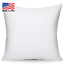 Discount-Pillow-Inserts-Euro-Throw-Pillow-Form-Insert-All-Sizes-USA-Made-1-Piece thumbnail 2