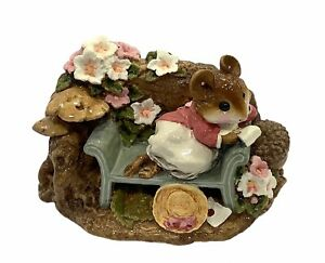 "Wee Forest Folk: ""Love Letter"" Nature, Collectible, Retired 2001, FS-05"