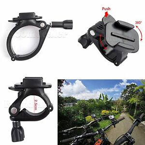 Auto-Motorcycle-Handlebar-Seatpost-Pole-Mount-Adapter-Clamp-for-GoPro-Hero-BUS