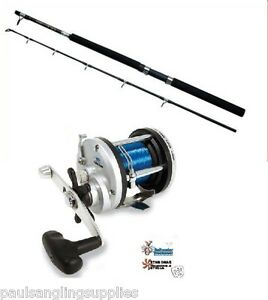 Boat-Fishing-Combo-Rod-amp-Reel-Abu-Garcia-GT-30-Boat-Rod-amp-JD500-multiplier-reel