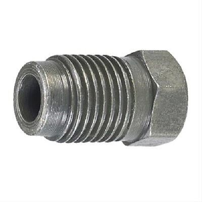 """3/16 x 12mm x 1.25 BRAKE LINE TUBE NUT FOR 3/16"""" STEEL LINE QTY 4 BUBBLE FLARE"""