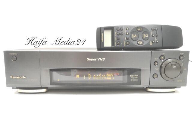 Panasonic NV-HS900 HighEnd S-VHS Videorecorder / SVHS Recorder +FB 1 Jahr Gewähr
