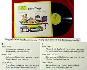 LP-Liebe-Dinge-Literarische-Miniaturen-Karl-H-Waggerl